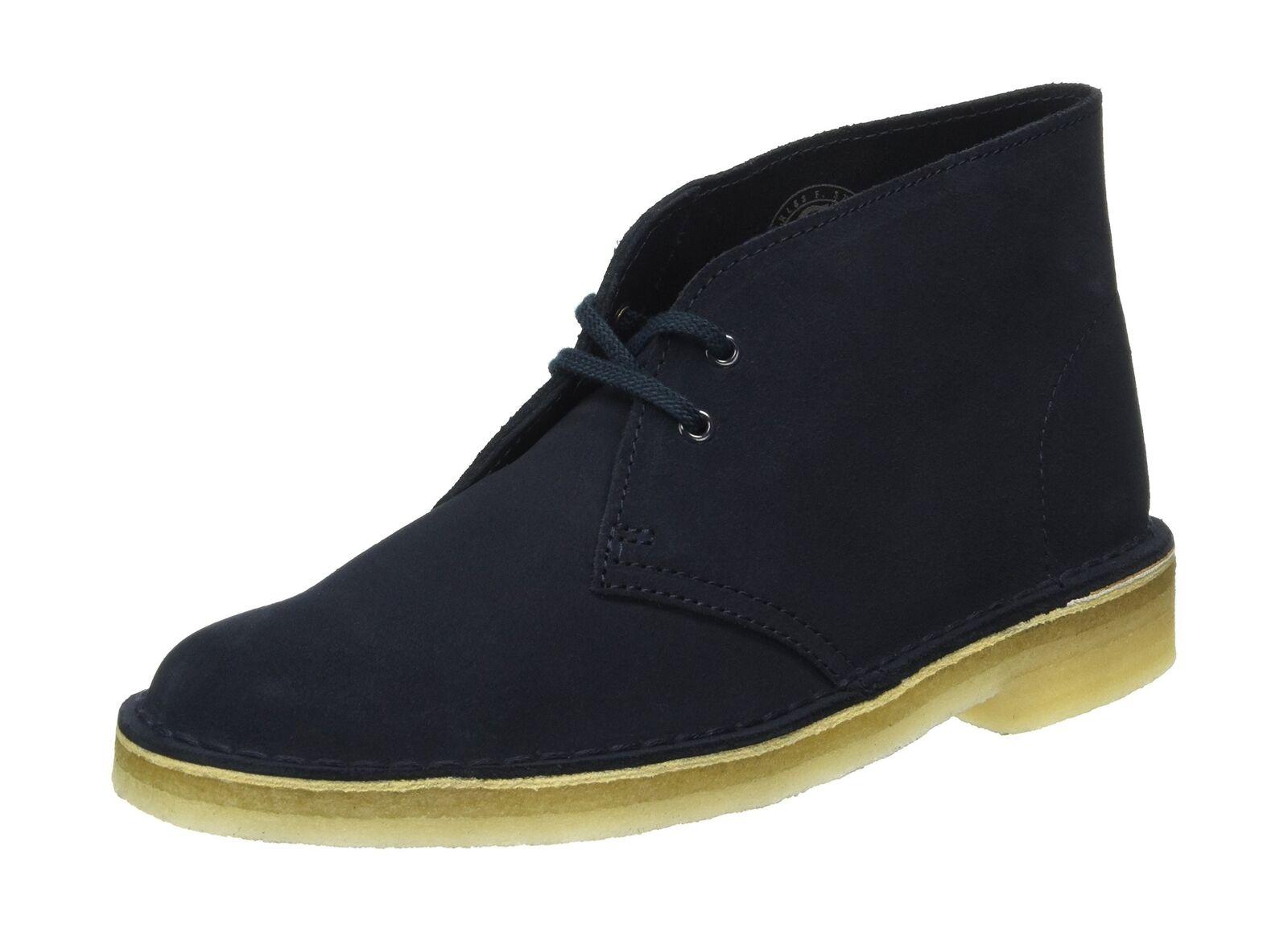 0d07220f0be45d Originals Desert Boots Dark Navy Suede 7 UK Women  s Clarks ...