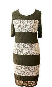 gerry weber spitzenkleid gr 46 abendkleid cocktailkleid damenkleid kleid aklei  ebay
