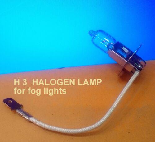 H3 55 Watt Halogen Light Bulb 12V 55W Long Life Cars lamp Fog lights