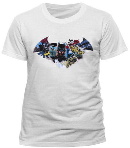 OFFICIAL Marvel DC Comics Character Superhero T shirts Avengers Batman Superman
