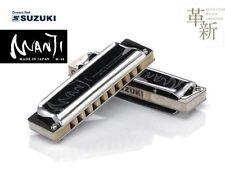 New SUZUKI MANJI M-20 Key Eb 10 hole Harmonica Japan