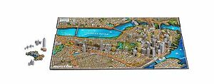 4D Cityscape Boston USA Time Puzzle (800 Piece) Free Shipping