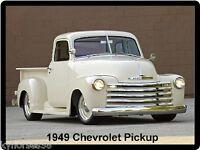 1949 Chevrolet Pickup Refrigerator Magnet