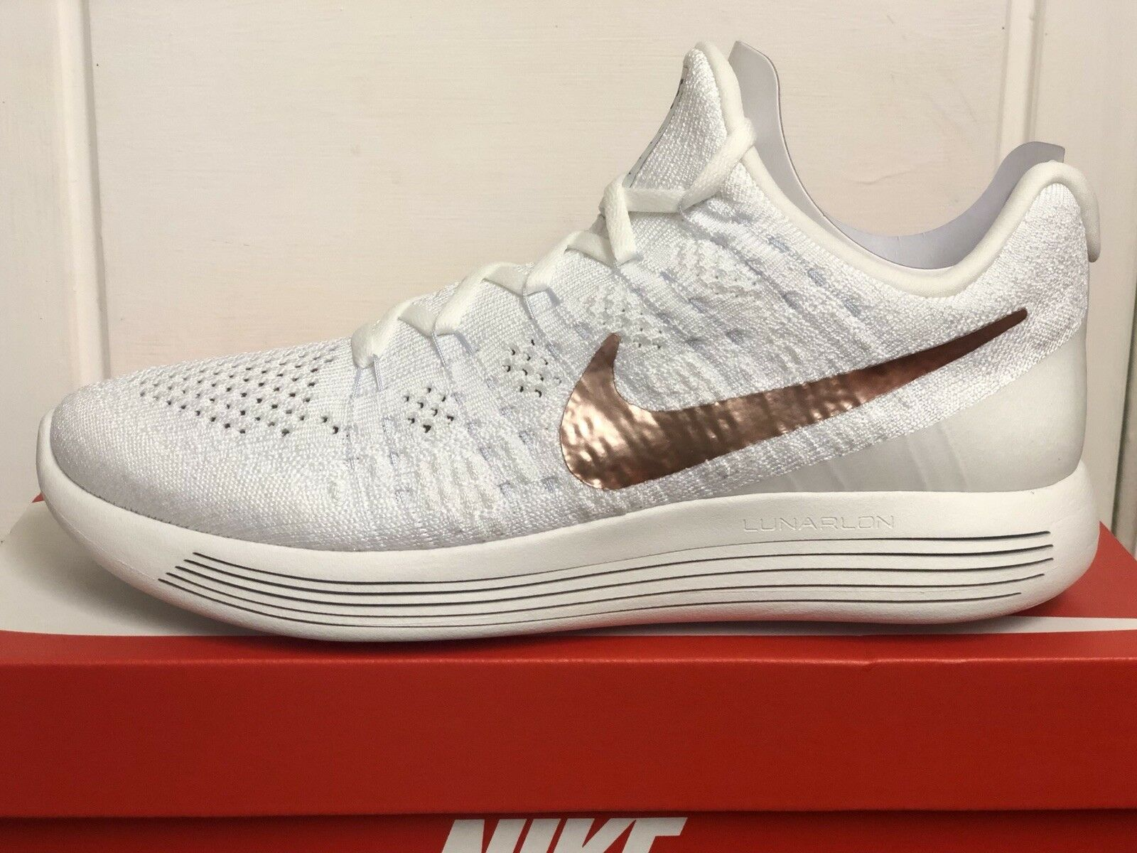 NIKE LUNAREPIC LOW FLYKNIT 2 X-PLORE TRAINERS SNEAKERS SHOES UK 8,5 EUR 43