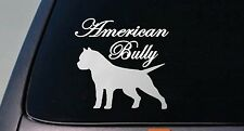 AMERICAN BULLY DOG sticker car decal window laptop