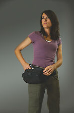 TRAVELON ANTI THEFT CONCEALED CARRY WAIST PACK /WEAPON BAG /WORLD WIDE SHIPPING!