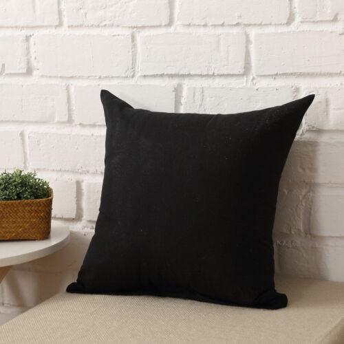 Soft Plush Square Pillow Cases Casual Throw Cushion Covers Sofa Waist Home Decor