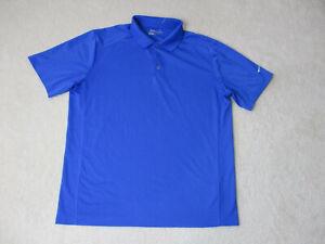 Nike-Golf-Tour-Performance-Polo-Shirt-Adult-Extra-Large-Blue-White-DriFit-A84