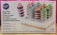 Includes Fill N Serve Stand 12 Pieces Cake Decor Wilton Treat Pops Display