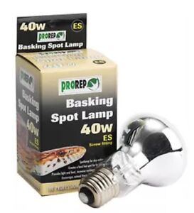 Pro rep Basking Spot Lamp Clear 40w screw Fitting - mablethorpe, Lincolnshire, United Kingdom - items to be replaced if damaged on arrival proof of damage must be sent i.e. returned or photo please make sure before you buy Most purchases from business sellers are protected by the Consumer Contract Regulati - mablethorpe, Lincolnshire, United Kingdom
