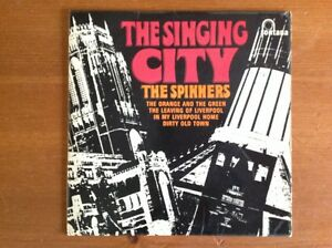 THE SPINNERS 1966 vinyl 45rpm single EP THE SINGING CITY - <span itemprop=availableAtOrFrom>Reading, United Kingdom</span> - THE SPINNERS 1966 vinyl 45rpm single EP THE SINGING CITY - Reading, United Kingdom