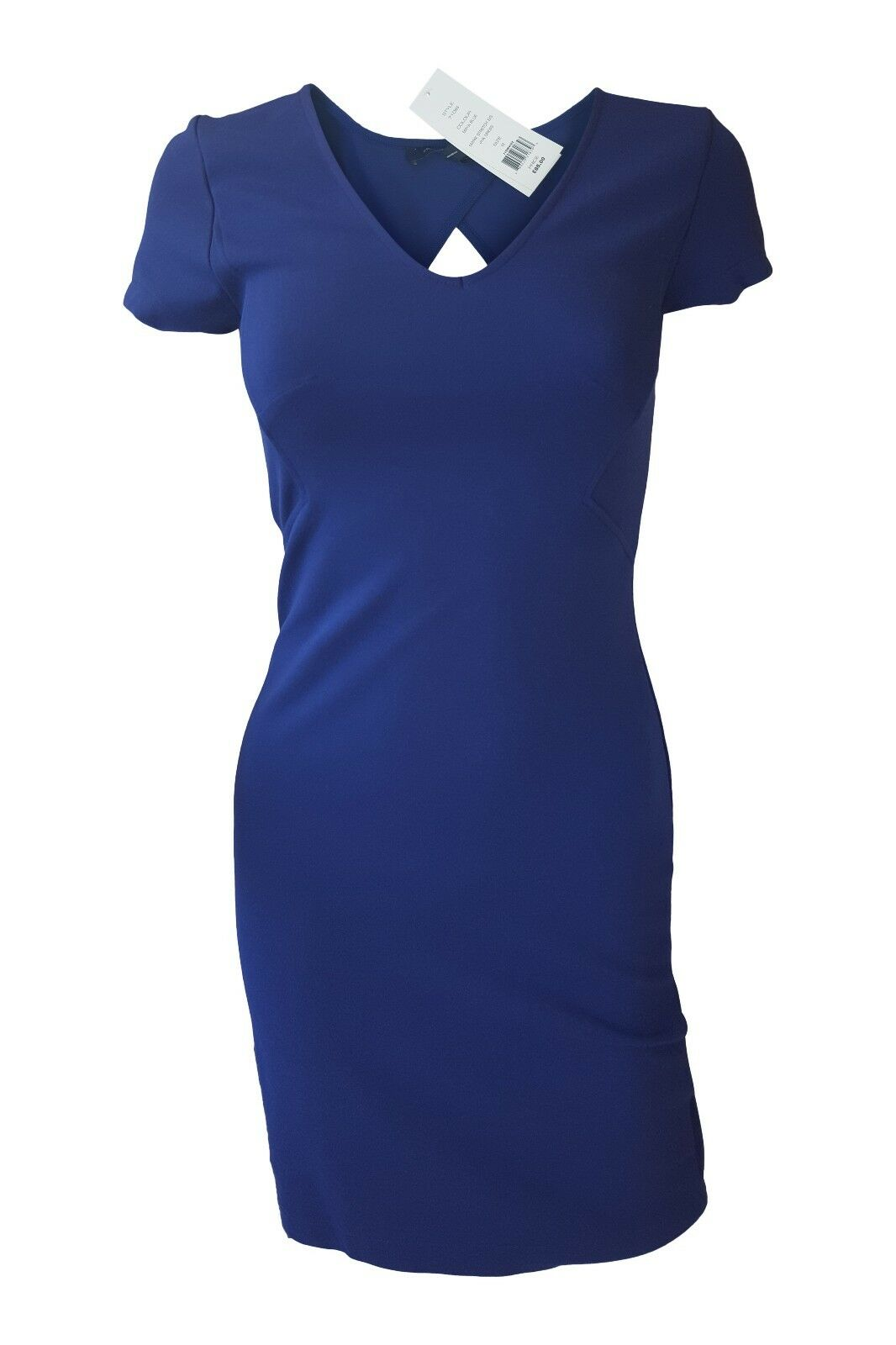 FRENCH CONNECTION MARIE CUT OUT MAYA blueE DRESS ()