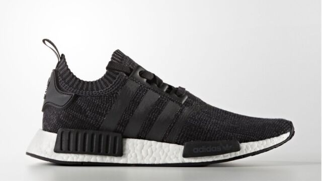 Adidas NMD R1 Winter Wool Primeknit PK Black Size 12. BB0679 Yeezy Ultra  Boost 450de416ff79