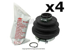BMW E21 320i (09/79-83) Axle Boot Kit for C/V Joint Rear Left and Right (4) FEBI