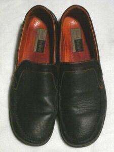 Details about Josef Seibel Womens Shoes US 10 Size 41 Black Leather Loafer Comfort