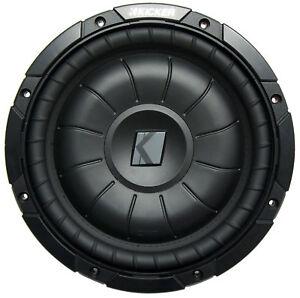 "Kicker RW10CVT10 Car Audio CVT 10"" Sub 800 Watts Peak Dual 1 Ohm Subwoofer"