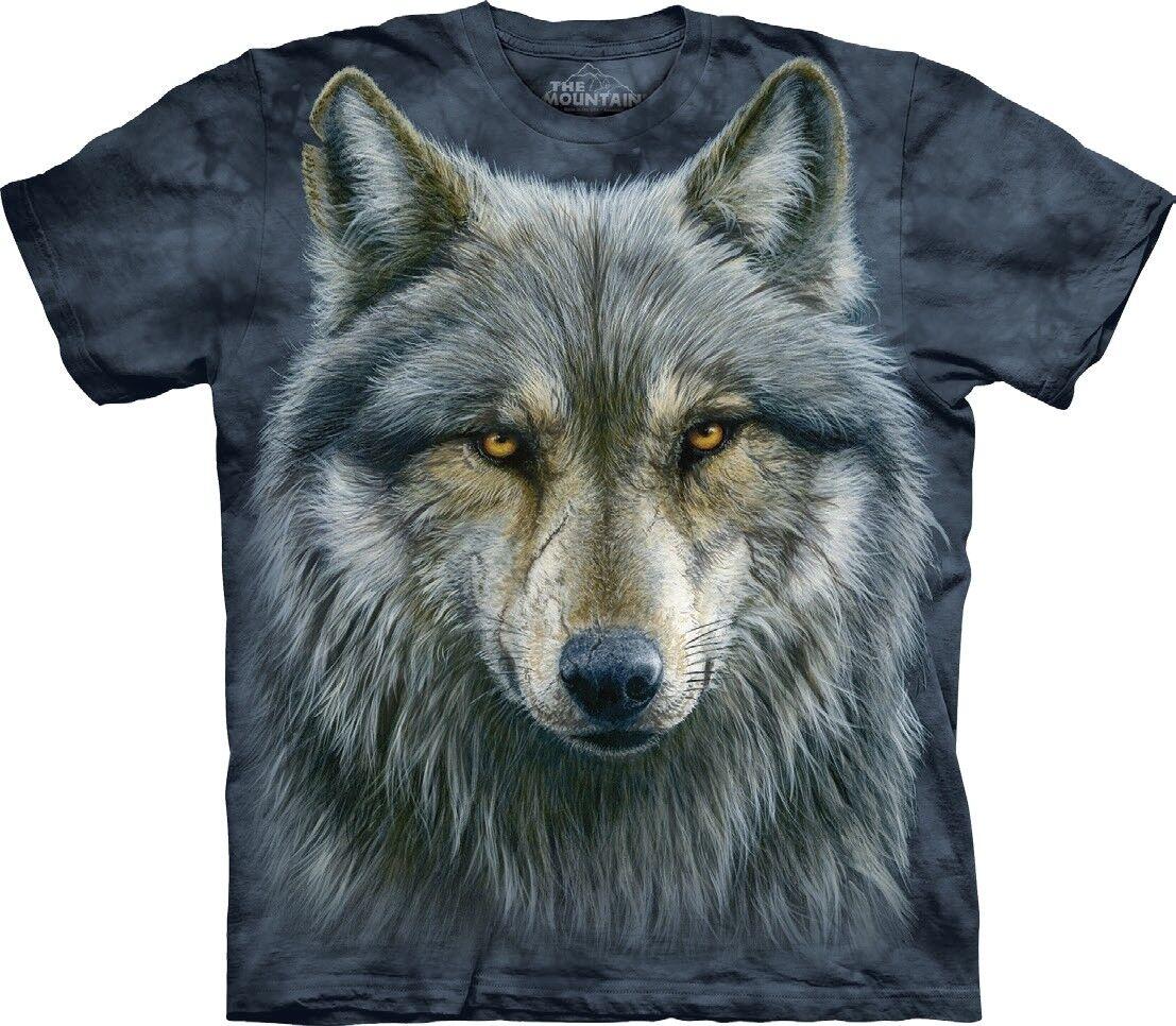 The Mountain Unisex Adult Warrior Wolf Animal T Shirt
