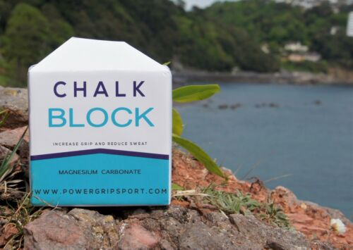 Chalk Block by Powergrip Sport For Powerlifiting Gym Climbing Mountaineering