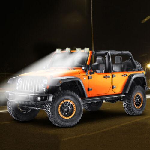 Carré 48W LED Travail Léger 12-24V Off Route Spot Lampe pour Voiture SUV 4WD ~