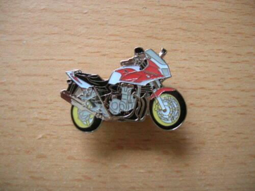 CB1300S Rouge//Blanc Moto Art Pin/'s Broche Honda CB 1300 S//S 1117 Moto