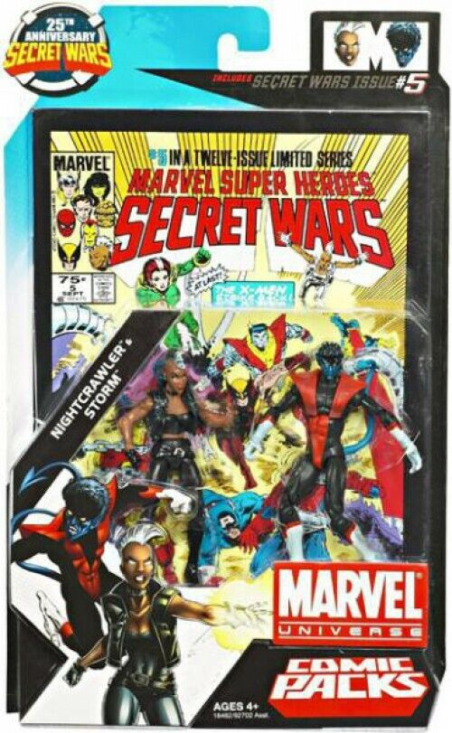 Marvel UNIVERSO teletrasportarsi & STORM azione cifra 2Pack  5