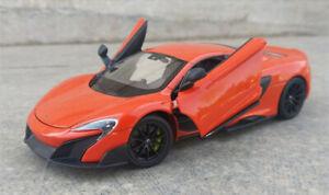 WELLY-1-24-Mclaren-675LT-Alloy-Sports-Car-Model-Boys-Toys-Static-Display