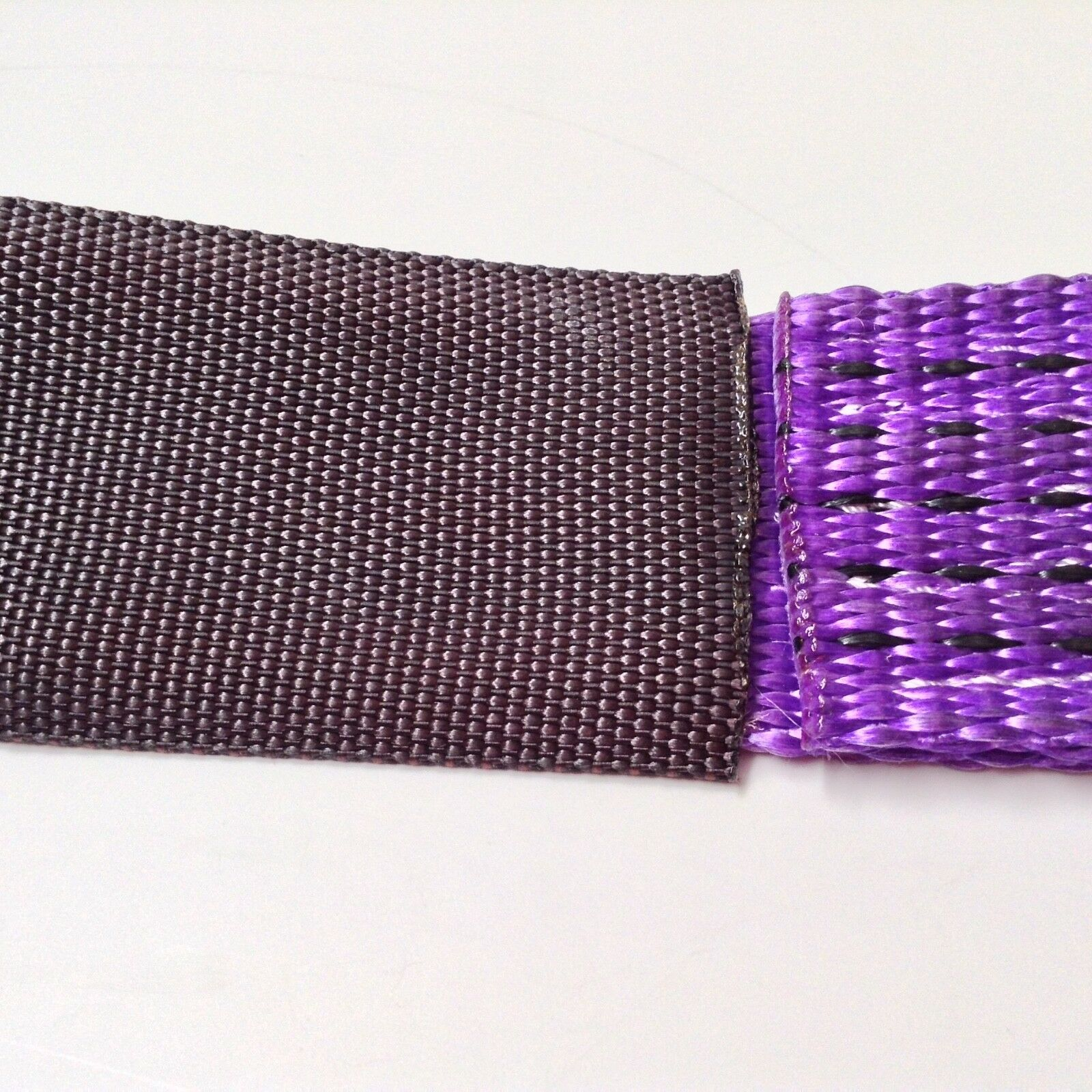 "Set of 2-2/""x36/"" Axle Straps Tie Downs Purple 3,335lbs Workng Load Limit"