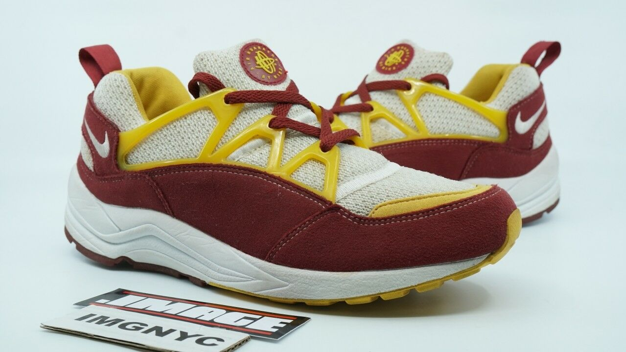9314f59cf AIR HUARACHE LIGHT USED 8.5 USC TROJAN WHITE gold TEAM RED 306127 172 NIKE  SIZE zlslmw2815-Athletic Shoes