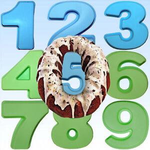 Kochen & Genießen Silikon Backform Zahl 0-9 Geburtstag Kuchen Party Nummer Kuchenform Happy Jahr