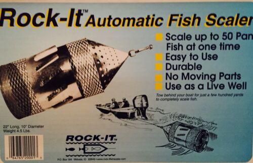 Rock-it Fish Scaler w//safety Kit