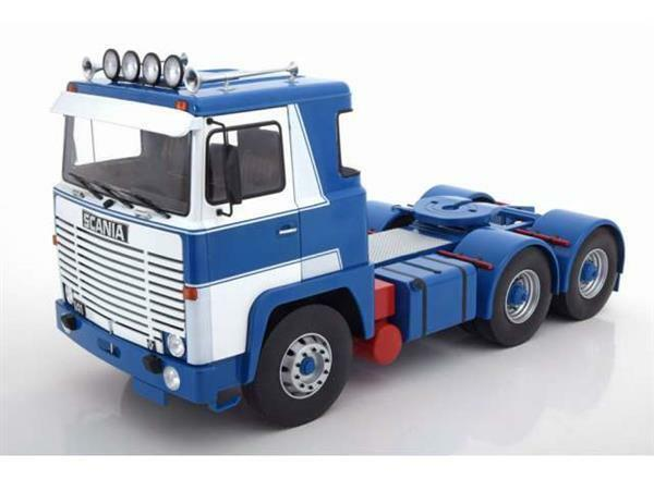 Road King Scania LBT 141 1976 ASG White bluee 1 18 180013