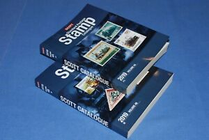 Scott Postage Stamp Catalogue 2019 J to M Vol 4A and 4B BlueLakeStamps NICE!