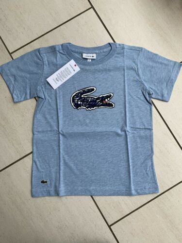 Lacoste Light Blue T-shirt Age 8 Years.