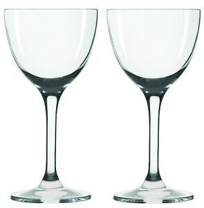 Nick-amp-Nora-Cocktail-Glasses-Set-of-2-5oz-Small-Plain-Vintage-Coupe-Glass