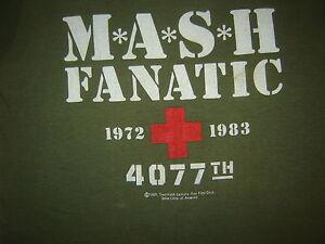 132c1a79 Vintage MASH TV SHOW T-SHIRT 83 NEVER WORN NEVER WASHED MASH FANATIC ...