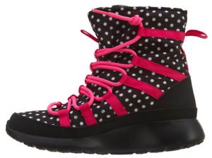 9e12bf59b364a Nike Youth Girls Roshe One Hi Print Boots 807744-001 BRAND NEW