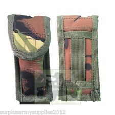 MULTI TOOL POUCH BRITISH ARMY WEBBING CAMOUFLAGE COMBI KNIFE HOLDER DPM UTILITY