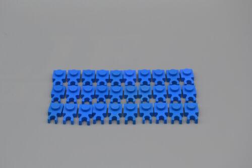 LEGO 30 x Halter Platte 1x1 Clip blau blue holder with clip 4085 408523