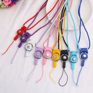 Neck-Strap-Ring-Lanyard-Detachable-For-iPhone-Samsung-Cell-Phone-ID-Card-PSP-MP3