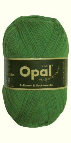 "1990 Opal /""Uni/"" Solid Sock Yarn Grass + pattern"