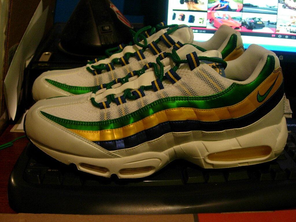 Nike Air Max 95, Brazil 13 World Cup, Hommes 13 Brazil 91b204