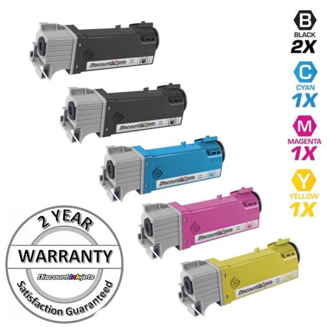 3 Cyan Magenta Yellow Printer Toner Cartridge for Dell Color 2130cn 2135CN CMY