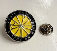 Stone Roses I Wanna Be Adored Lyric Pin. A Guy Called Minty & Casual Connoisseur