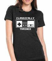 Nintendo classically Trained Womens T-shirt Jr. Size