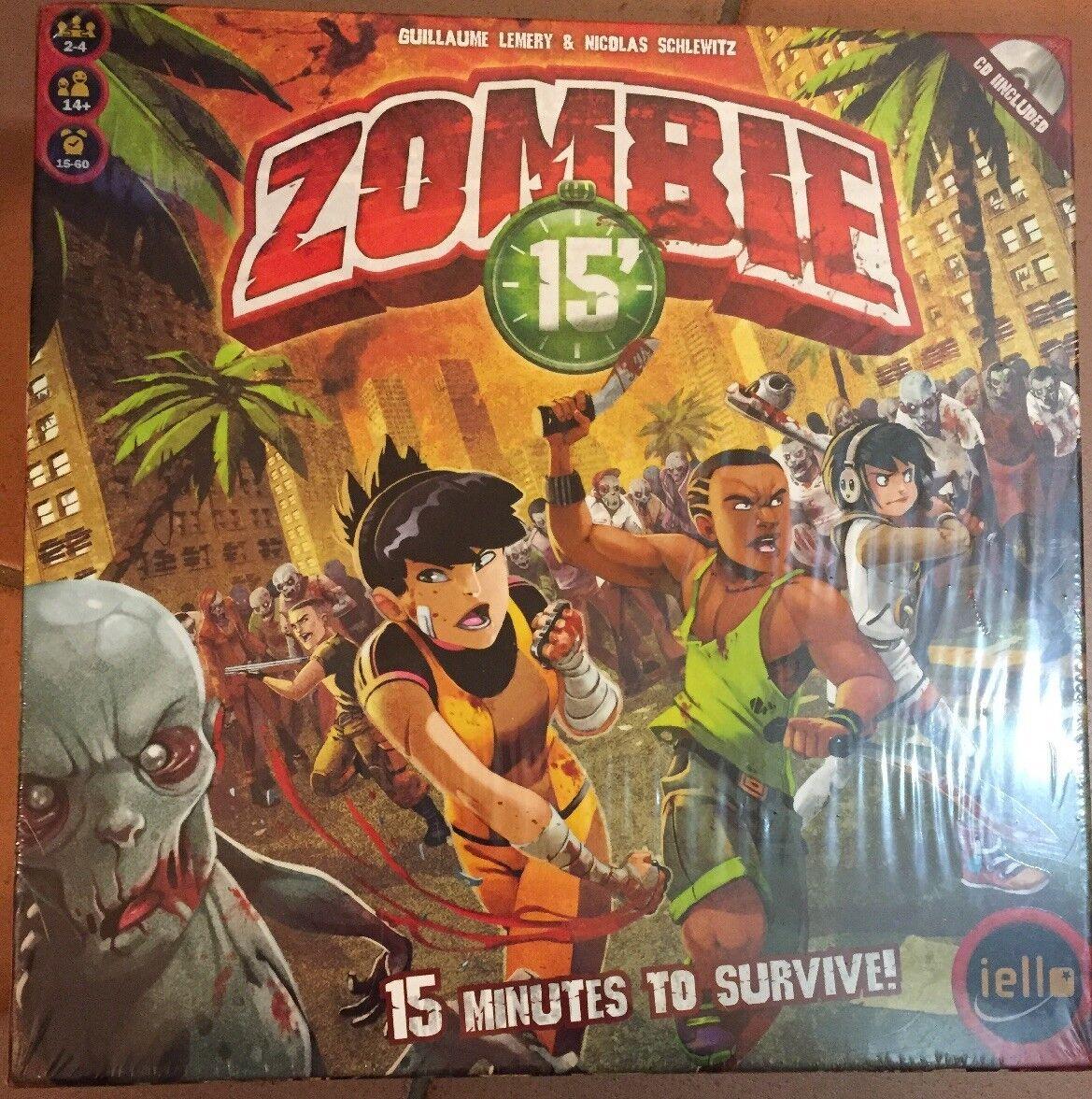 Zombie 15' por iello Junta Juego. nuevo. Sellado.