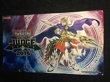 YU-GI-OH NEKROZ OF UNICORN  SPIELMATTE JUDGE  2015   PLAYMAT