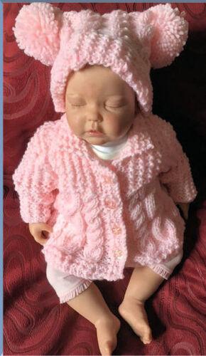 VR46 Aran Baby Coat and Hat Pattern