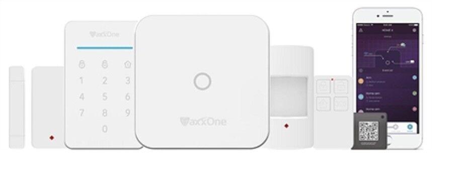 MaxxOne Wireless RF Burgler Alarm Kit /& 1 x Wireless PIR Sensor