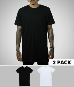 2-x-Tall-Tees-for-39-Extra-Long-Mens-Tee-Shirt-T-Shirt-Length-Fashion-Branded