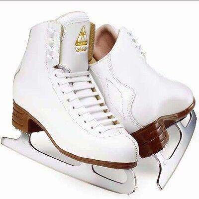 JACKSON ARTISTE.FIGURE SKATES.ICE SKATES.WHITE.SHARPENED FOR FREE!
